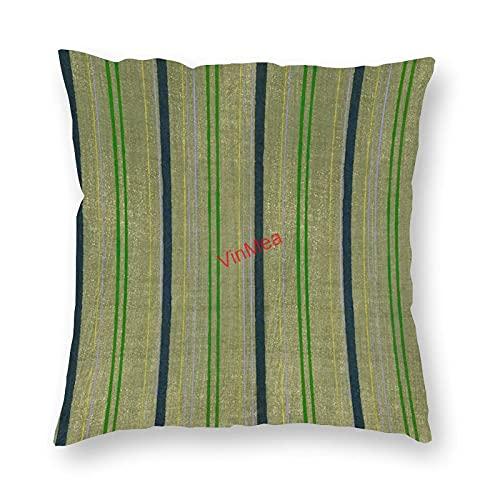 VinMea Funda de almohada decorativa con patrón 1 fundas de cojín para sofá, dormitorio, hogar, oficina, decoración de 40,6 x 40,6 cm