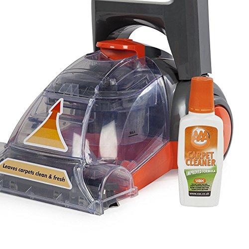 Vax Rapide Spring Clean Carpet Washer, 700 W - Grey/Orange