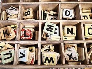 Der Preis gilt je Buchstabe, bitte wählen Sie die gewünschten Buchstaben aus. Mit den bunten Scrabblebuchstaben kann man originelle, individuelle und persönliche Geschenke und Deko gestalten. Die Lieferung der Farben erfolgt bunt gemischt nach Lagerv...
