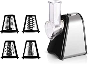 ELECTRIC SALAD MAKER WITH 4 ATTACHMENTS