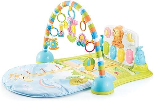 XLLLL Baby Bodybuilding Fitness Rack Pedal Klavier Neugeborene Musik Lernspielzeug Spielmatte Infant Climbing Blanket 0-12 Monate