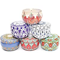 6-Pack Oshine 2.5-oz. Aromatherapy Women's Scented Candles