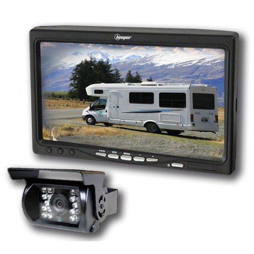 pas cher un bon Caméra inversée camper 7 pouces écran de sonnerie RWEC99X