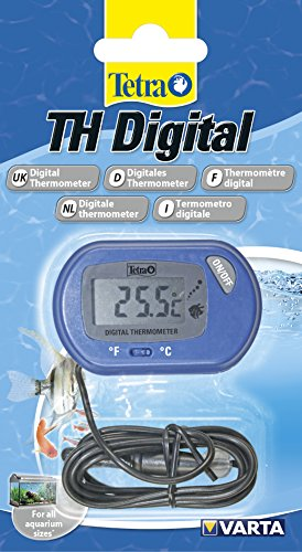 Tetra TH Digital Termómetro (para todos los tamaños Acuarios, para la sencilla y segura de medición de la temperatura del agua en acuario)