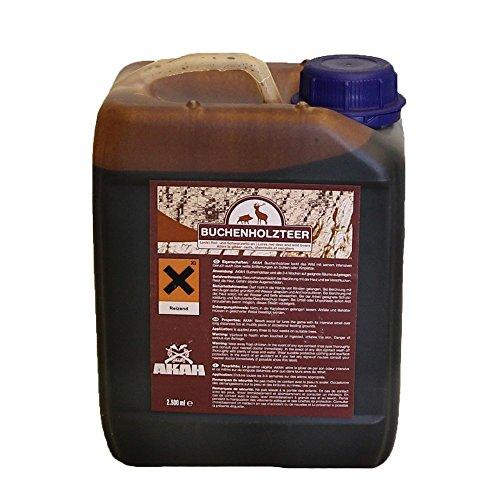 Madera de haya AKAH alquitrán 2,5 litros de alto concentrado atrayente para rojo y negro Wild