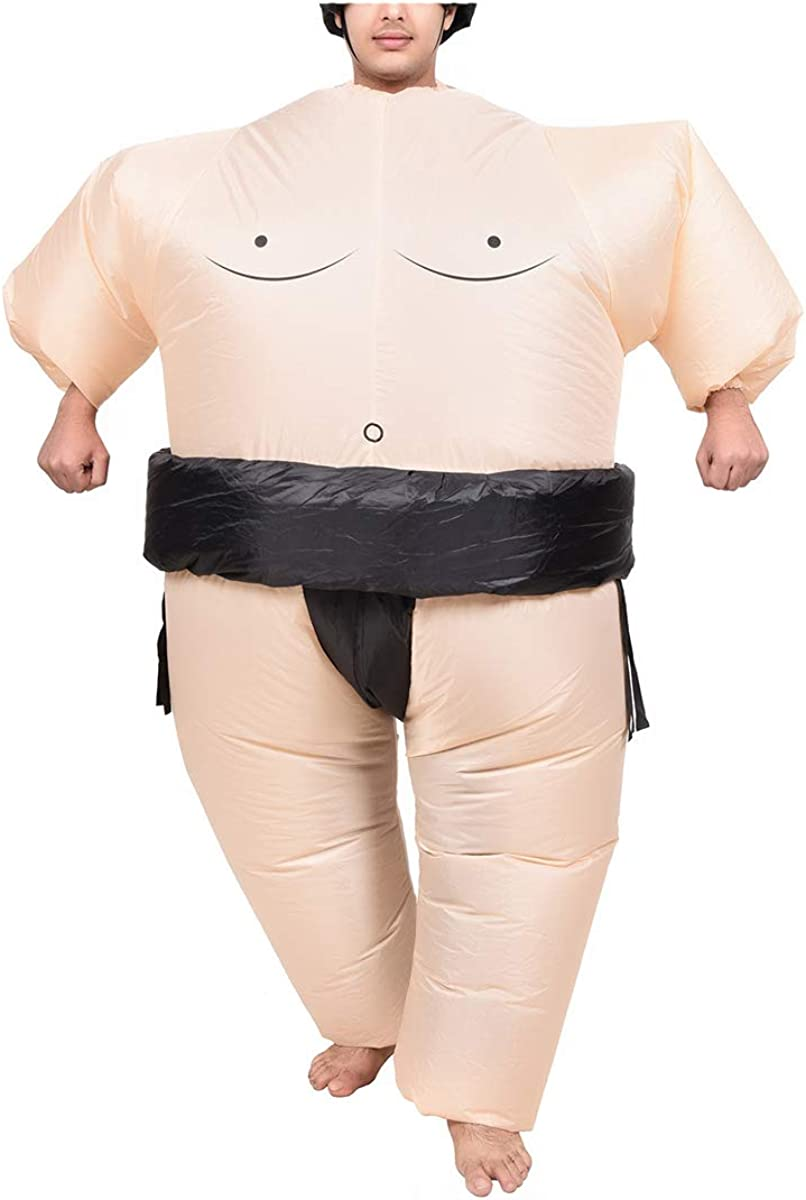 Funny Inflatable Sumo Wrestler Fancy Dress Challenge the lowest price of Japan Costume for Adul Direct stock discount Suit