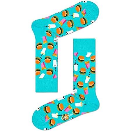 Happy Socks Hamburger Sock Calcetines para Hombre