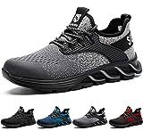 Suadex - Zapatos de seguridad para hombre y mujer, ligeros, deportivos,...