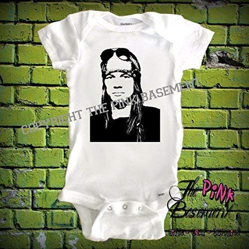 80's 90's Heavy Metal Band Inspired Unisex Baby Babies Best Fan Boys Girls Baby Clothes Newborn Gift Shower Clothing Rock Bands Jumper Jumpsuit Bodysuit One piece Pajamas One-piece Romper