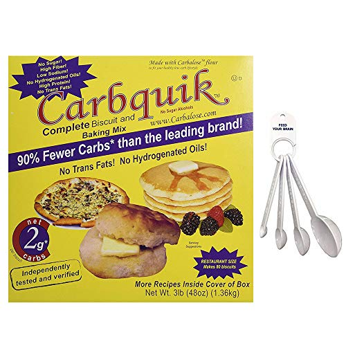 Carbquik Baking Mix 3 lbs with Measuring Spoons