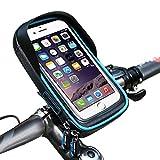 Bicycle Bag Outdoor Mobile Phone Bag Waterproof MTB Cycling Frame Front Tube Bike...