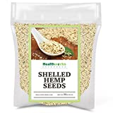 Healthworks Shelled Hemp Seeds Canadian (32 Ounces / 2 Pound) | Premium & All-Natural | Contains Omega 3 & 6, Fiber and...