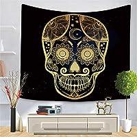 ブラックゴールド動物タペストリークロスボーダーゴールデンパターンシリーズ吊り布家の装飾桃肌背景布-スタイル6_150 * 210cm
