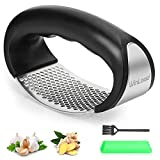 Winload Garlic Press, 304 Food Grade Stainless Steel Ginger Crusher, Garlic Rocker