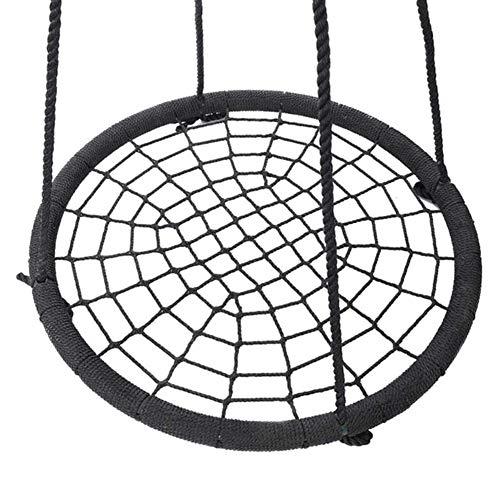 Balançoires YXX Nid D'oiseau Jardin 40 Pouces d'arbre en Toile d'araignée pour Enfants et Adultes, Grande Chaise hamac Suspendue extérieure avec Cadre en Acier et capacité de 200 kg