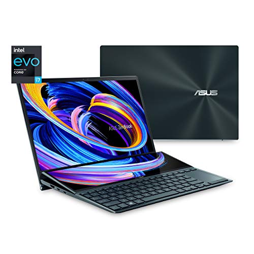 "ASUS ZenBook Duo 14 UX482 14"" FHD NanoEdge Touch Display, Intel..."