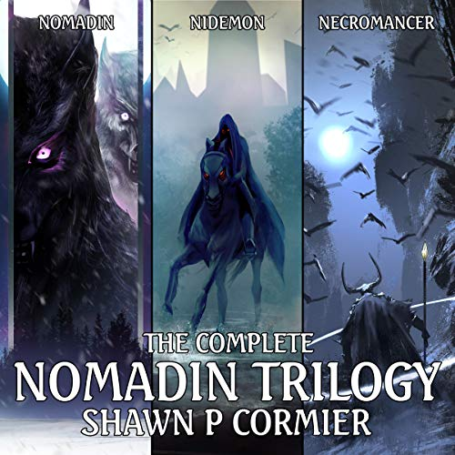Nomadin Trilogy (3 Book Series) audiobook cover art