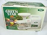 Tribest GP-E1503 Greenstar Gold Greenpower Juicer, White