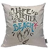 Almohada de Estampado, Almohada Pattern, Funda de cojín Throw Pillow para Cama sofá Sala de Estar Dormitorio,Cartel de...