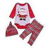 Christmas Family Pajamas Matching Sets Mom Santa Claus Tops Blouse Pants Sleepwear Christmas Outfits Set