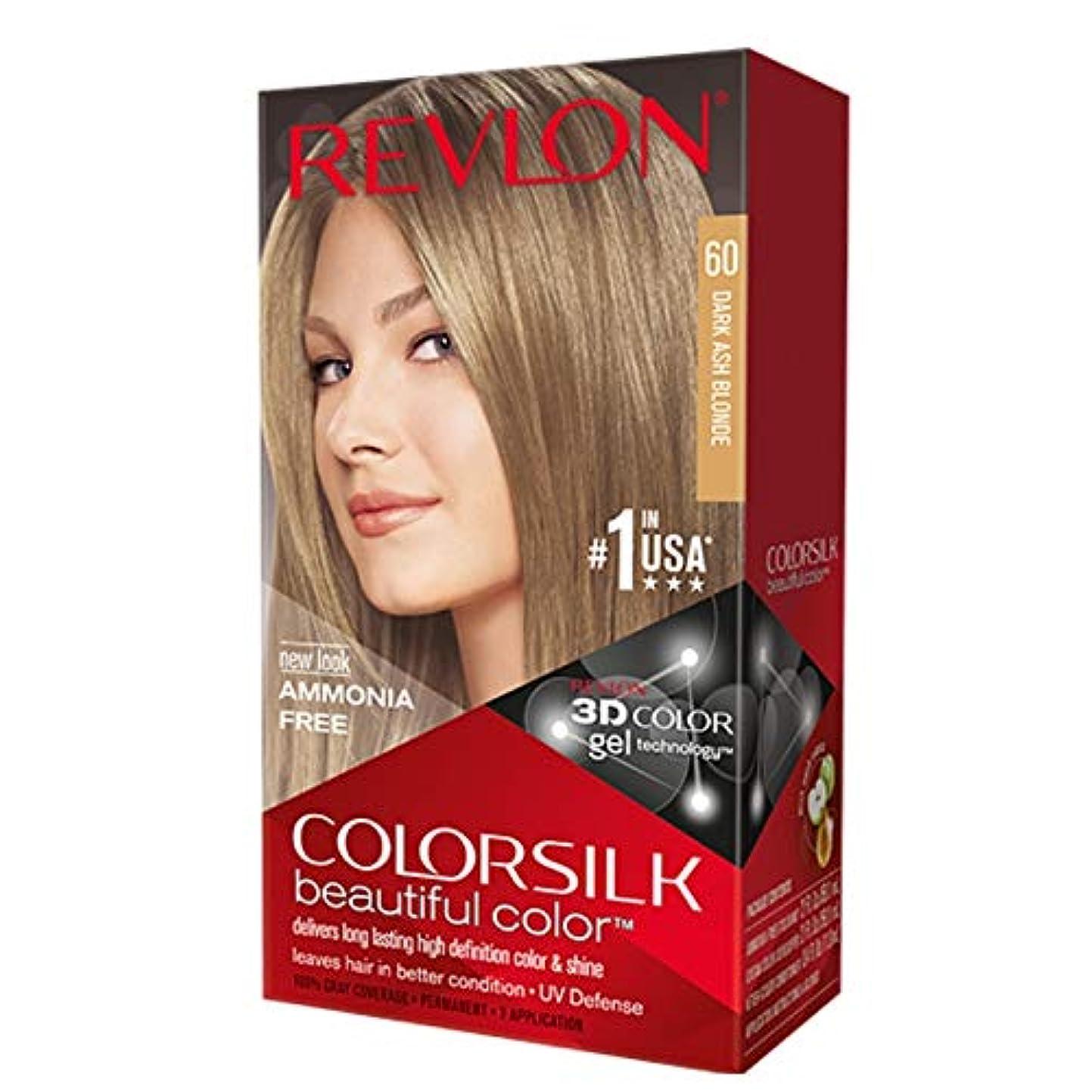 戦艦帝国有害海外直送肘 Revlon Colorsilk Natural Hair Color 6A Dark Ash Blonde, 6A Dark Ash Blonde each