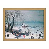 Lucas Van Valckenborch Winter Landscape Snowfall Antwerp