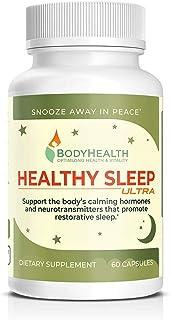 Healthy Sleep Ultra: Support for Restorative Sleep w/Melatonin. Stress & Anxiety Relief Sleeping Aid for Adults & Kids, (N...