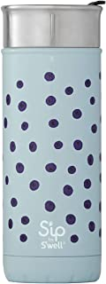 S'ip by S'well Insulated Stainless Steel Travel Mug, 16 oz, Coffee Black - 20316-D17-00601