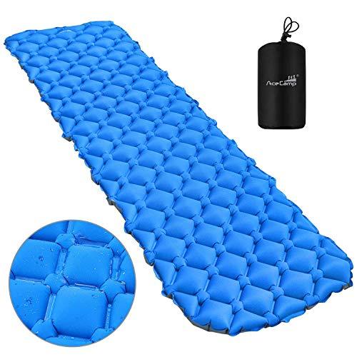 AceCamp Isomatte Camping Schlafmatte Kleines Packmaß. Aufblasbare Ultraleicht Luftmatratze für Outdoor Camping, Reise,Trekking und Backpacking, 3949
