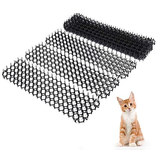 Felenny 10 Stks Kat Schrikken Mat Anti-Kat Prikkeling Strip Duurzaam Katten Honden Graven Stopper Geschikt Voor Tuin Planten Bloemen Auto Aanrechtbladen Sofa