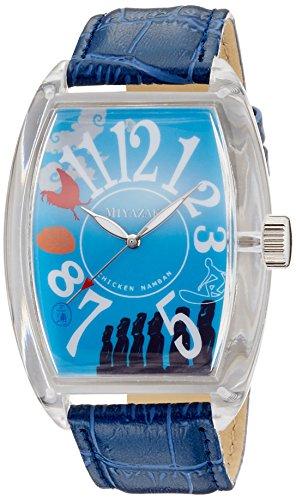 [フランクミウラ] 腕時計 ご当地三浦 宮崎県 「どげんかせんといかんモデル」 FM04NK-MYZBL ブルー