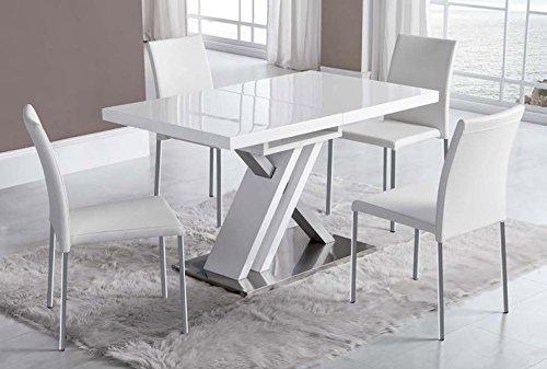Mesas de comedor modernas : Modelo DT-16 de 130(170) x80x76