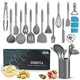 Utensilios de Cocina Silicona PAIPU, 32 Piezas Utensilios de...