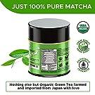 Organic Matcha Green Tea Powder - Authentic Japanese Top Ceremonial Grade Matcha Powder - 100% Pure Highest Quality 1st Harvest [1.07oz] #1