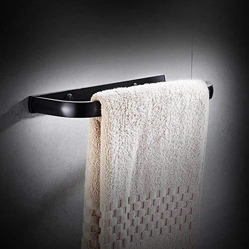 Non-Perforated American Black Einfachheit für Den Haushalt Handtuchring Badezimmer Space Aluminium Einfachheit für Den Haushalt Handtuchring Schwarz Antikes Badezimmer Einfachheit für Den Haushalt H
