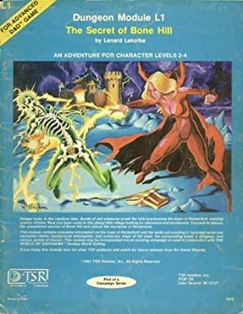 L1 The Secret of Bone Hill - Book  of the Advanced Dungeons and Dragons Module #C4