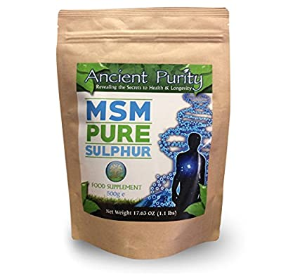 MSM Pure Sulphur 500g Patrick McGean Sulphur Study