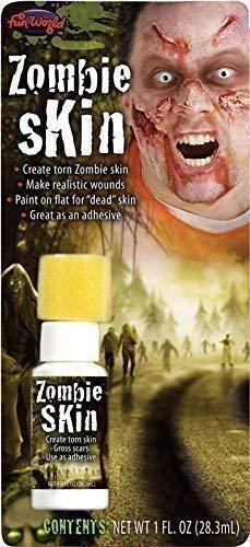 Femmes Hommes Latex Liquide Fausse Peau Halloween Zombie Mort Effets Spéciaux Maquillage Costume Déguisement Kit