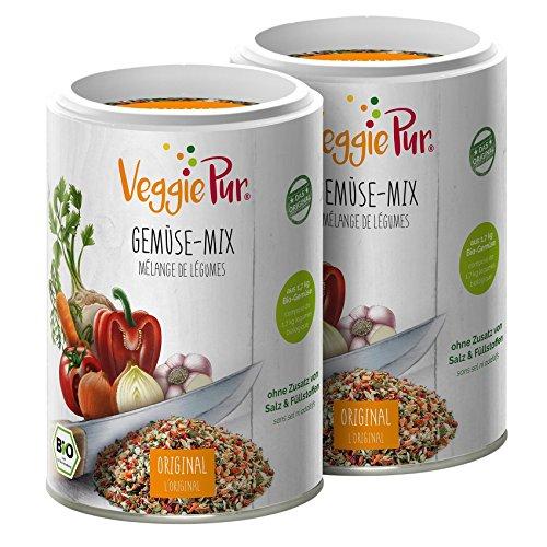 VeggiePur Bio Gemüse-Mix im 2-er Pack (Das Original)