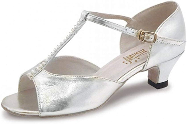 Roch Valley Lara Standard Tanzschuh für für für Damen und Mädchen Silber 3 (36) B0062WKQTU  Starke Hitze- und HitzeBesteändigkeit 0086e2