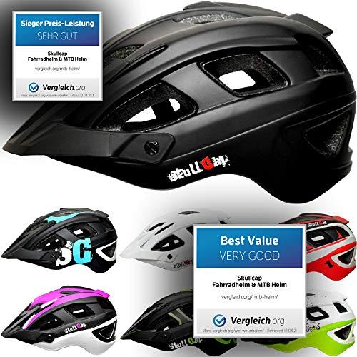 SkullCap® Casco Bicicleta Adulto Montaña MTB, Casco Bicicleta Carretera, Casco Bici Adulto...