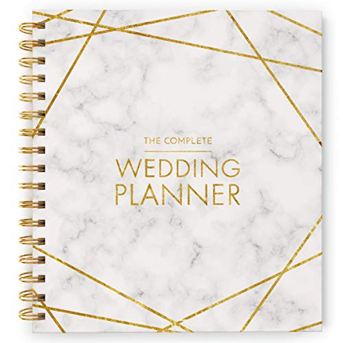 [New] Wedding Planner - UK Bridal Planning Book Journal & Organising Diary, Engagement Gift, Countdown Calendar