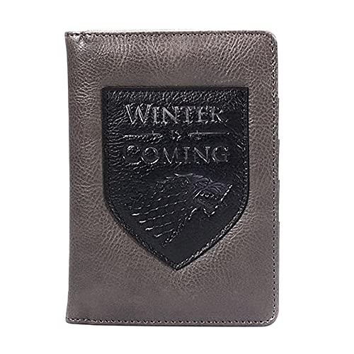 Game of Thrones Winter is Coming - Cartera de viaje para pasaporte en caja