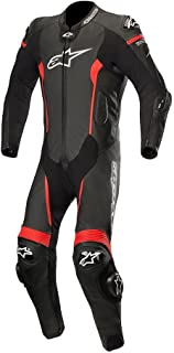 Alpinestars Missile Leather One-Piece Suit (Tech Air Compatible) (50) (Black/RED)
