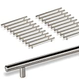 20 x SO-TECH® G18 Tirador de barra Manija barral Manija de mueble Tubo de Acero fino Ø -barra 10 mm/Distancia de agujeros 224 mm