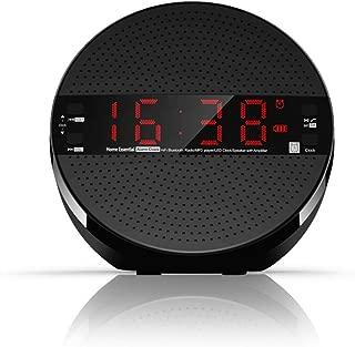 GLJJQMY Wireless Bluetooth Speaker 5W 3 Inch Speaker Card Audio Radio Alarm Clock LED Clock Remote Control