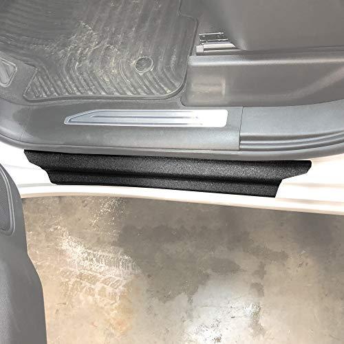 Red Hound Auto Door Entry Guard Scratch Shield Compatible with Chevrolet Chevy Silverado 1500 Crew Cab 2019 2020 2021 4 Door 10 Piece Custom Fit Door Sill Scuff Paint Protector
