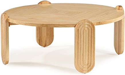 Now House by Jonathan Adler Josef Cocktail Table,  Blonde Wood