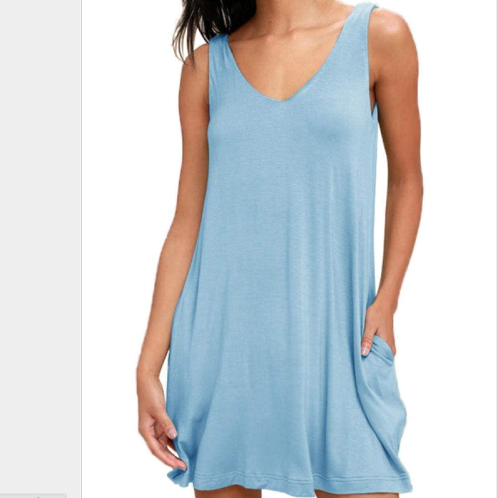 FWJSDPZ Summer Large Women S Sling All stores are sold Super-cheap Fashion Pocket Casual Loose