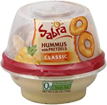 sabra hummus and pretzel snack pack